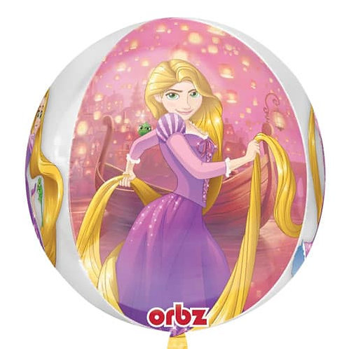 Disney's Tangled Rapunzel Balloon 4 Sided Orbz Balloon