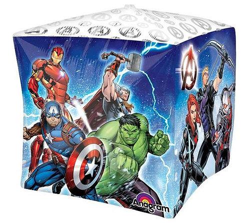 Avengers Assemble Balloon 4 sided Cubez Balloon