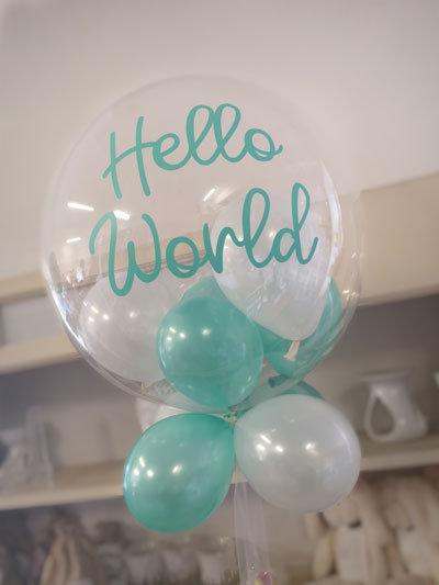 Personalised Bubble Balloon - Balloons inside