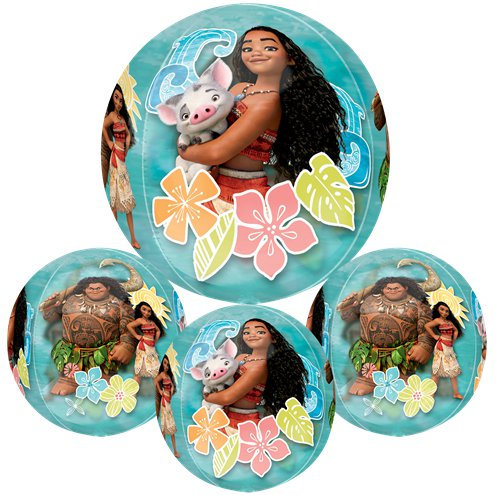 Disney's Moana Balloon 4 Sided Orbz Balloon