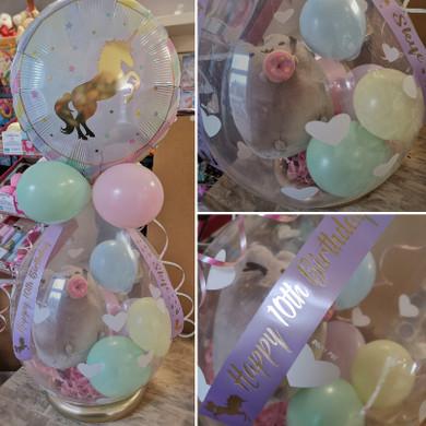 unicorn pastel gift pop surprise present