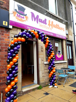 balloon arch arches twisted manchester