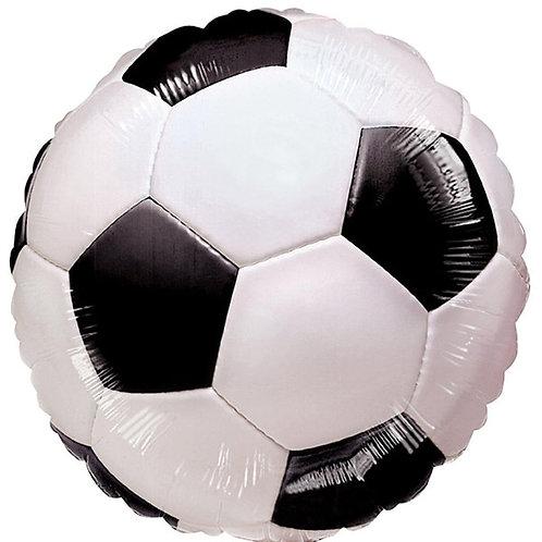 "Football themed 18"" Foil Helium filled Balloon"