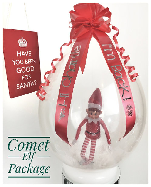 Elf in a balloon - Comet Package