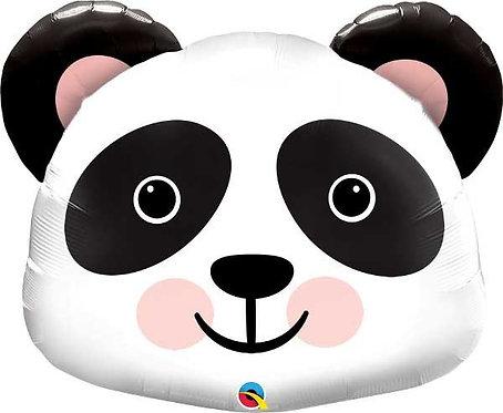 "Panda head Supershape Helium Foil Balloon 31"""