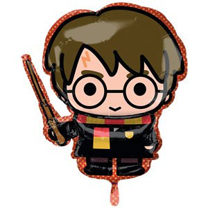 Harry Potter Balloon Supershape Helium Foil Balloon 31""