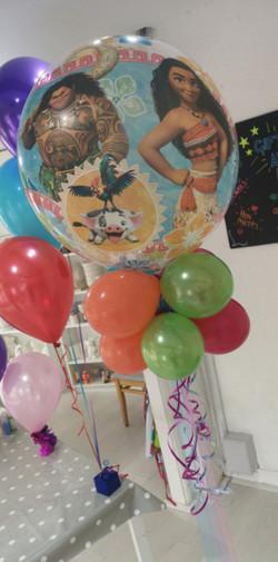 moana disney balloon bubble helium ashto