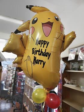 Pokemon pikachu foil supershape helium balloon tameside.jpg