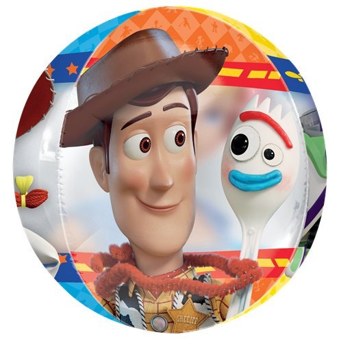 Toy Story Balloon 4 Sided Orbz Balloon - Woody, Sporky, Buzz, Jessy & Bo Peep
