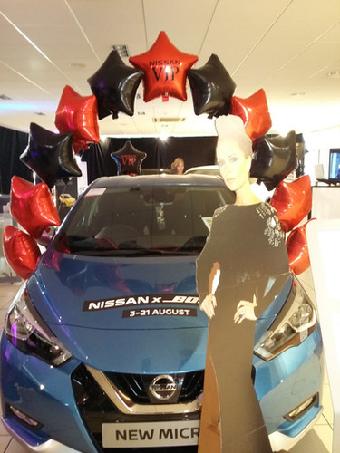 car showroom nissan stockport pearl arch