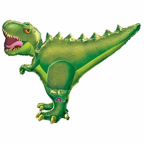 "T-rex Dinosaur Supershape Helium Foil Balloon 36"""