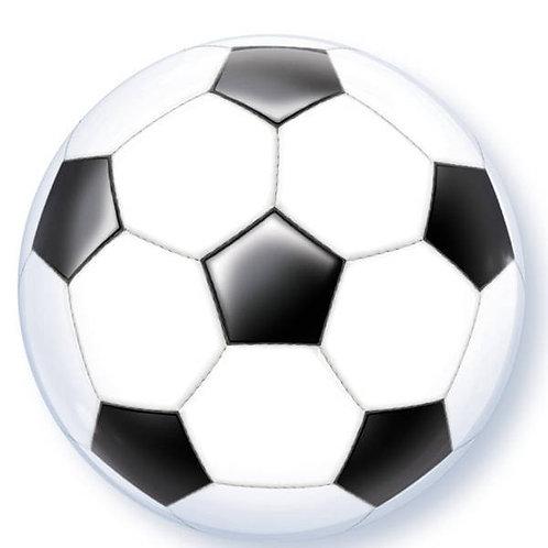 Football Balloon Bubble Round Helium Filled Balloon