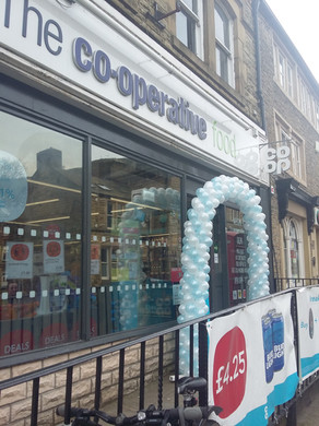 shop opening balloons balloon arch promo