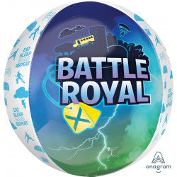 Gaming Balloon Battle Royal Round Orbz Computer Game Theme