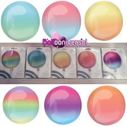ombre orbz balloons