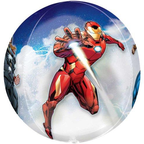 Avengers Balloon Orbz 4 Sided - Iron Man, Hulk, Thor & Captain America  Balloon
