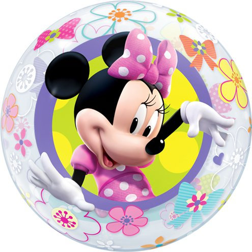 Disney Minnie's Bow-tique Bubble Balloon - 2 sided helium filled