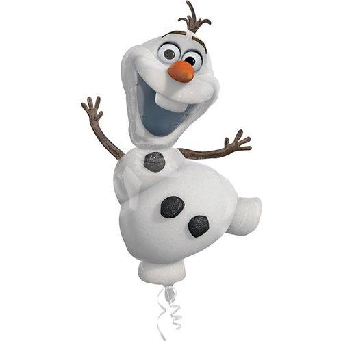 "Frozen Olaf Supershape Helium Foil Balloon 41"""