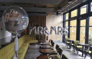 mr and mrs letter balloons giant orbz ba