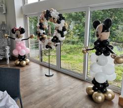 mickey and minnie balloon sculpture chro
