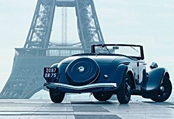 Salon retromobile in Paris