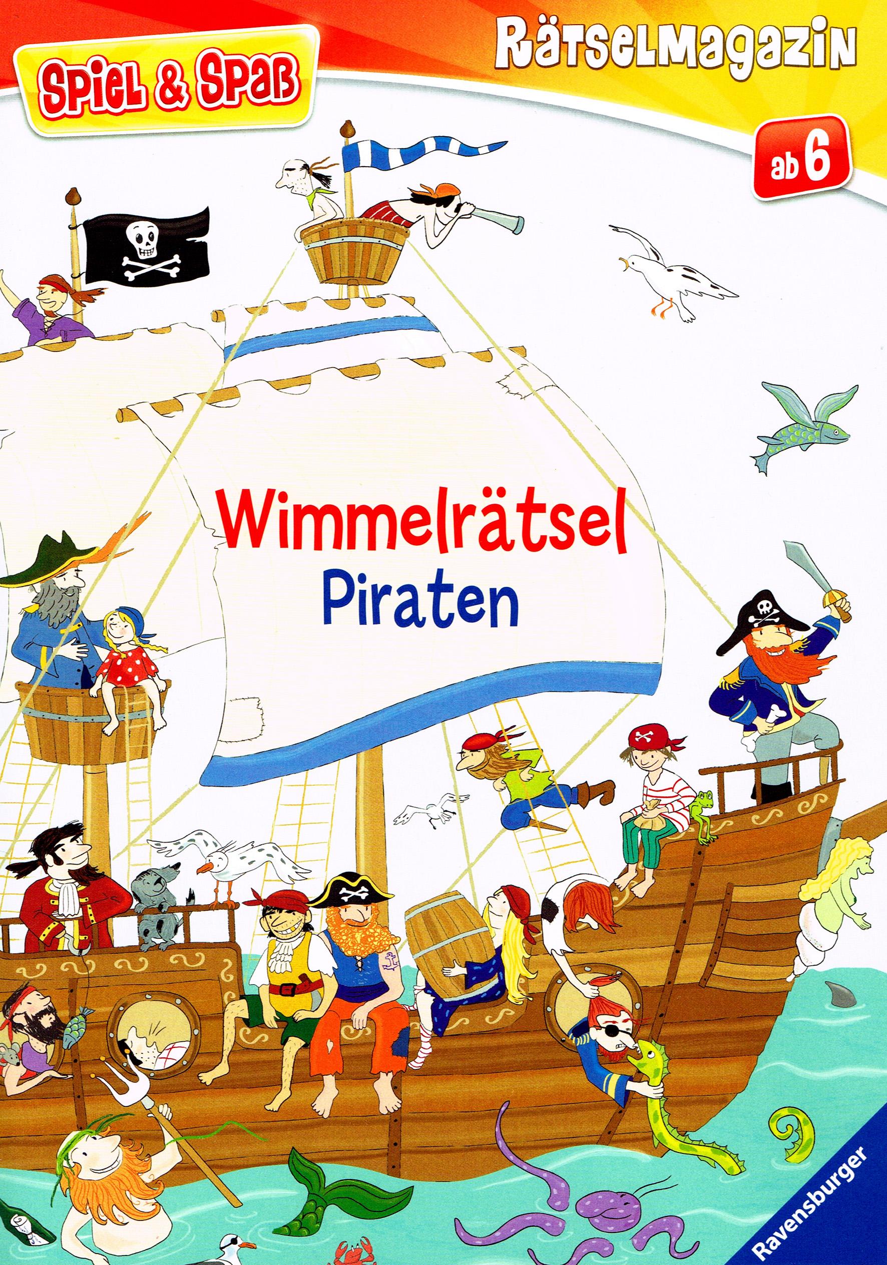 Piratenwimmelbuch