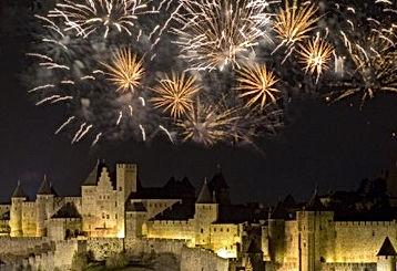 Festival of Carcassone city Luxury travel experience