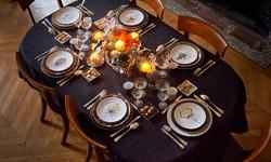 French etiquette dinner