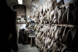 Celebrated shoemaker