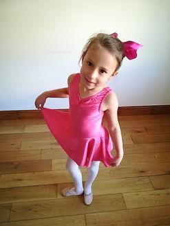 Primary level ballet uniform