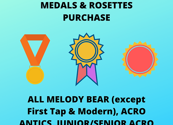 Medals & Rosettes (not First Tap & Modern Pin Badges - see separate listing)