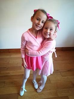 Primary and reception ballet uniform