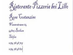 Ristorante Pizzeria bei Lillo