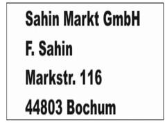 Sahin Markt GmbH