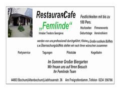 Restaurant Café Femlinde