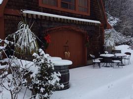 Winter Tasting Room