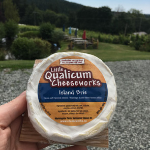 Island Brie from Little Qualicum Cheeseworks