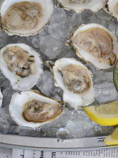 Oysters and Gris