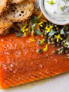 Smoked Salmon, Caviar & Karma