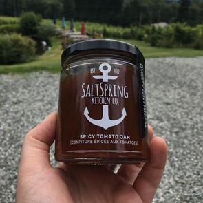 Spicy Tomato Jam from Salt Spring Island Kitchen