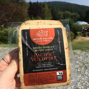 Natural Pastures Wildfire Smoked Cheese
