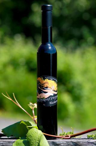 Blackberry Dessert Wine
