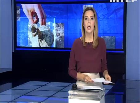 """Перші результати розкопок очима журналістів телеканалу """"Інтер"""""""