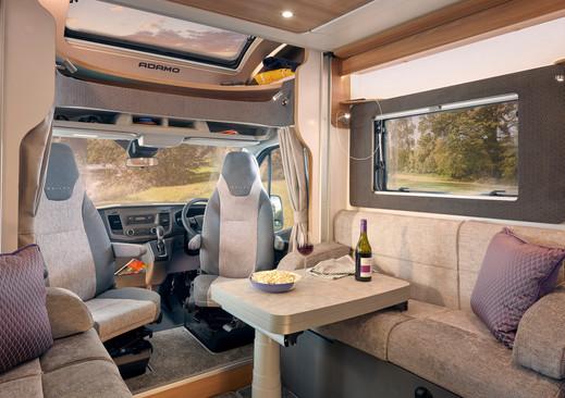 Adamo 75-4DL flexi lounge, featuring twi