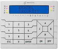 clavier encastrable pour systeme alarme bentel