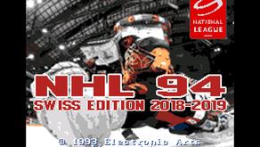 NHL 94 - Swiss edition 2018/2019!