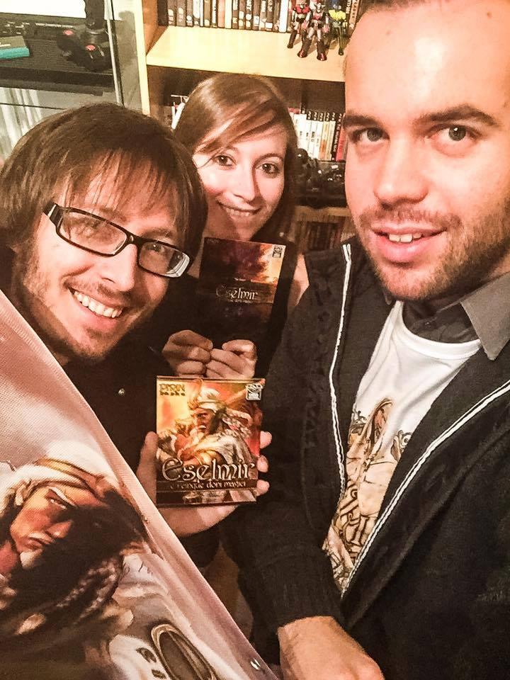 Stefano, Tania and Sebastiano