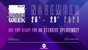 Next stop: Milan Games Week
