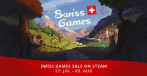 Swiss Games sale on Steam