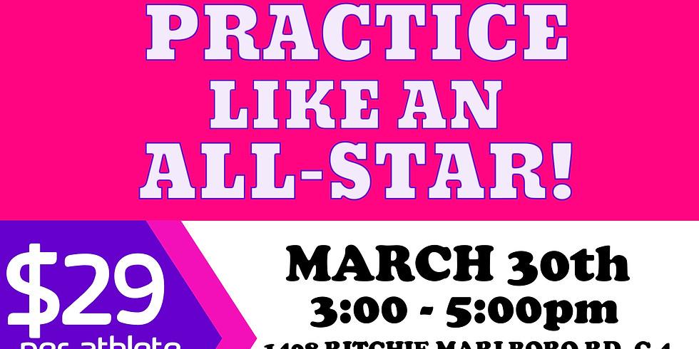 Practice Like An All-Star!!